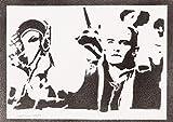 Legolas Herr Der Ringe (The Lord Of The Rings) Poster Plakat Handmade Graffiti Street Art - Artwork