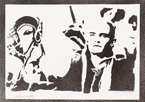 (Legolas Herr Der Ringe (The Lord Of The Rings) Poster Plakat Handmade Graffiti Street Art - Artwork)