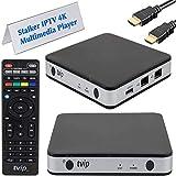 TVIP S-Box v.605 IP TV 4K HEVC HD Android 6.0 Linux Multimedia Stalker IP TV Streamer 1GB RAM + 8GB eMMC, MicroSD-kaart, EXT.