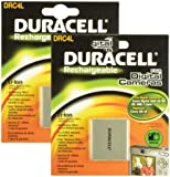 Duracell Replacement Digital Camera Battery for Canon NB-4L - Twin Pack