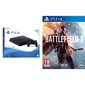 PlayStation 4 500 Gb D Chassis Slim + Battlefield 1