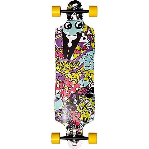 Peg superlog Doodle 96,5cm (Cruising/freeride) 9plis Longboard Yellow Wheels