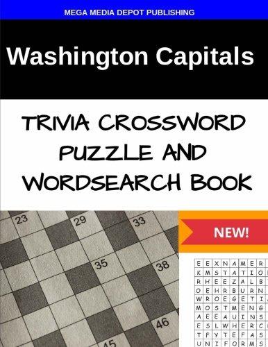 Washington Capitals Trivia Crossword Puzzle and Word Search Book por Mega Media Depot