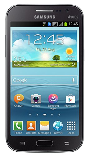 Samsung Galaxy I8552 Grand Quattro Mobile Phone (Grey)