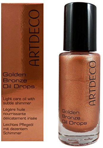 Artdeco Art Golden Bronze Oil Drops, 1er Pack (1 x 15 ml)