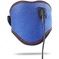 Wener Cuello Térmico Wrap Brace Cable USB Calefacción para Terapia De Alivio del Dolor Cuello Crónico Salud Imán Terapia Física para Hombres Mujeres