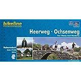 Heerweg / Ochsenweg: Von Viborg nach Hamburg - Ein original bikeline-Radtourenbuch, 1 : 75 000, wetterfest/reißfest, GPS-Tracks Download
