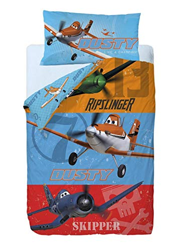 Disney Aviones Heros Saco nórdico 2 Piezas Cama 90