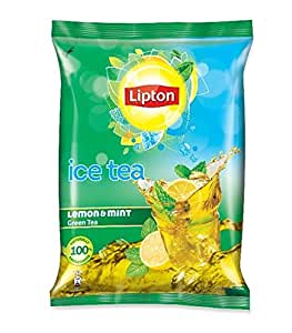Lipton Premix Green Lemon & Mint Ice Tea,  400g