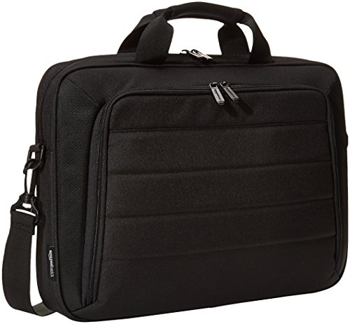 AmazonBasics Laptop and Tablet Case, Black, 39.6 cm (15.6 inch)