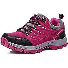 Easondea Zapatillas de Trekking para Hombres Mujeres Zapatillas de Senderismo Unisex Botas de Montaña Antideslizantes AL