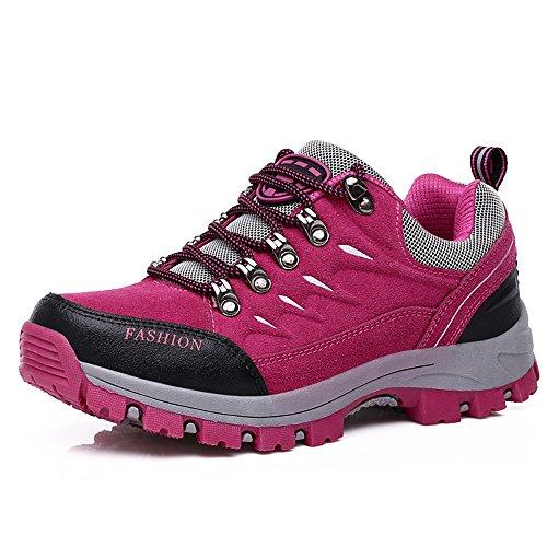 Easondea Scarpe da Trekking Uomo Donna Scarpe da Escursionismo Unisex Outdoor Resistente all'Acqua Antiscivolo Stivali Trekking e Passeggiate All'aperto Sneakers