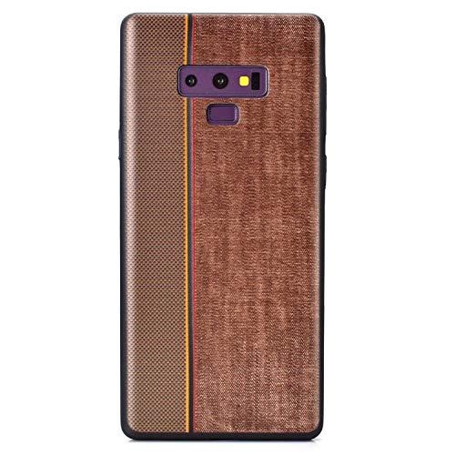 Carols Samsung Galaxy Note 9 Hülle, TPU Handyhülle Schutzhülle für Samsung Galaxy Note 9 Case Cover, Samsung Galaxy Note 9 Case Cover Black - Brown