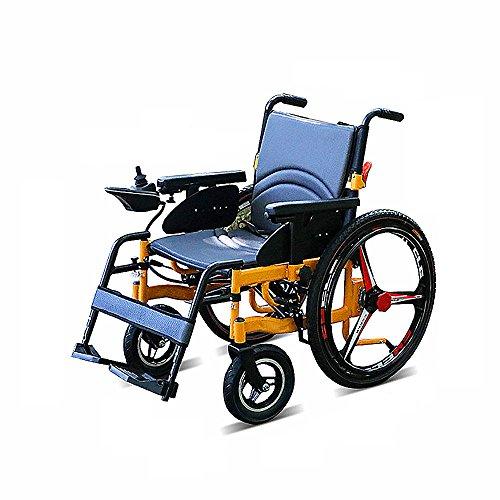 Aluminiumlegierungs-Rollstuhl-Intelligenter Roller Elektrische Vier Rollstuhl-Leichte Faltende Untaugliche Ältere Gesundheits-Wiederaufnahme