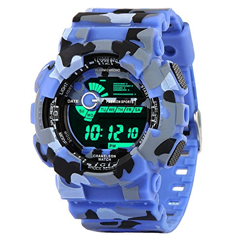 Knotyy Digital Multi-Colour Dial Sports Watches For Men And Boys - Knty-Ww-M-Sw120