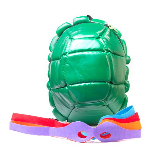 Turtles Rucksack inkl. (Kinder Turtles Ninja Mutant Kostüm Teenage)
