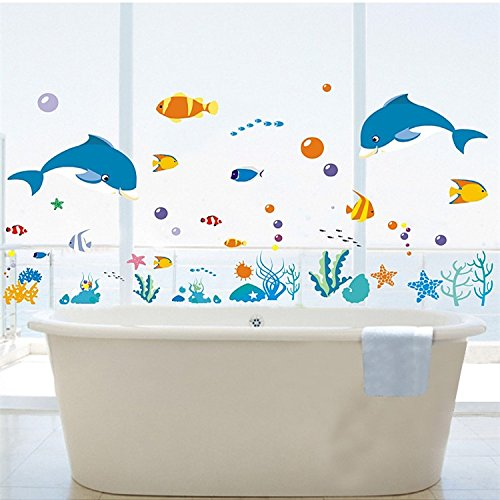 decobay-dolphins-sea-fish-starfish-coral-premium-wall-stickers-removable-and-repositionable-children
