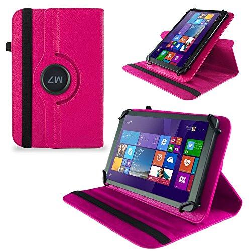 UC-Express Tasche Hülle Cover für Odys Wintab GEN 8 Case Tablet Schutzhülle Bag, Farben:Pink