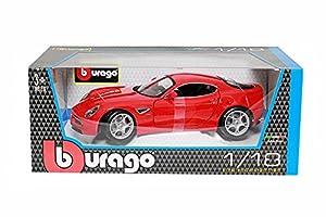 Bburago - Alfa 8C Competizione 2007 (18-12077) , Modelos/colores Surtidos, 1 Unidad