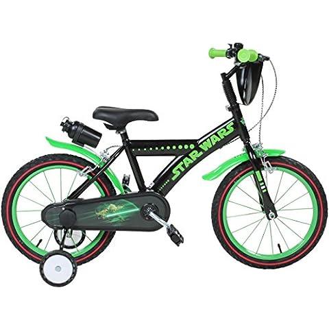 16pollici Disney Star Wars Yoda bici per bambini bambino Kids Bike bicicletta
