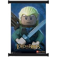 """LEGO Señor de los anillos película tela de pared Póster de desplazamiento (16""""x23) inches"""