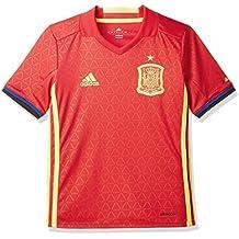 Adidas Fef H JSY Y Camiseta Selección Española de Futbol 1ª Equipación 2016/ 2017,