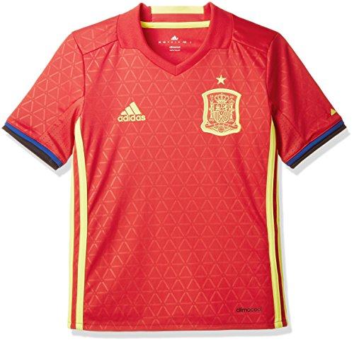 adidas Jungen Fußball/Heim-trikot UEFA Euro 2016 Spanien Replica, Scarle/Byello, 152, AA0850