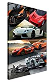 Canvas It Up Collage sur toile encadrée Art mural Impressions de voiture photos, 03- A2 - 24' X 16' (60cm X 40cm)