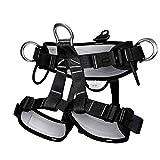 Arnés de escalada Medio cuerpo Cinturón Cinturón de seguridad Cinturones de trabajo para equipos de rapel Ampliación de la capacitación Montañismo y otras actividades de aventura al aire libre