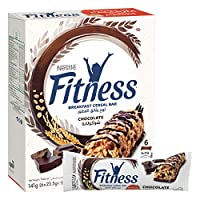Nestle Fitness Chocolate Breakfast Cereal Bar 23.5g (6 Bars)