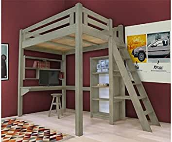 Hochbett Erwachsene 140x200 : Hochbetten für erwachsene gute idee kleine wohnung
