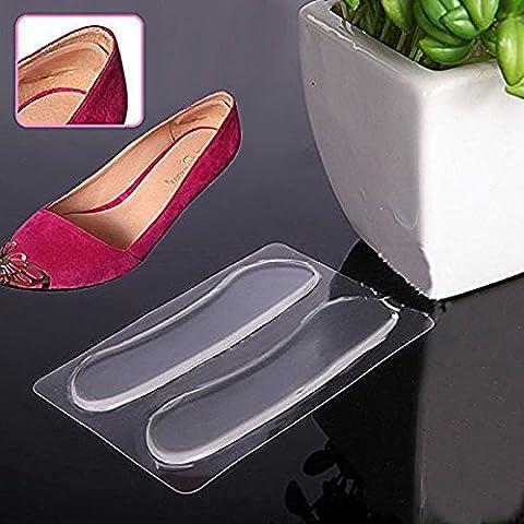 5 Paar Heel Grip Gel-Silikon-Rück Liner Schuh-Einlegesohlen-Auflage-Fuss-Sorgfalt-Schutz