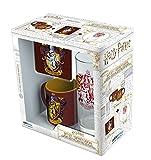 ABYstyle Harry Potter - Coffret Cadeau Verre 29cl + Coaster + Mini Mug Gryffondor