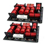 2 x 3-Wege-Frequenzweiche Qualität Filter für Lautsprecher 400W