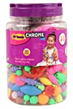 #1: Chrome Do-It-Yourself Bead Set (300 pieces)