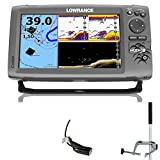 Lowrance Hook 9 Mid/High DownScan Combo Fischfinder Echolot GPS Portabel Master