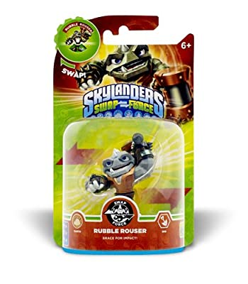 Skylanders Swap Force - Swappable Character Pack - Rubble Rouser (PS4/Xbox 360/PS3/Nintendo Wii/3DS) by Activision