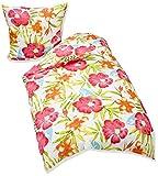 TK Home Textiles Renforcé Bettwäsche, Bouquet Colour 09 (04-0633)