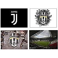 Set 4 Tovagliette Juventus (2° versione)