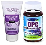 Robert Franz – Hyaluron Creme mit OPC (50 ml) + Ayursana OPC (58 g)