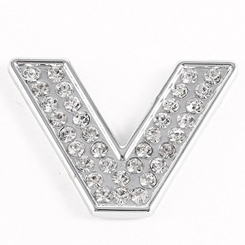 general-adhesive-rhinestone-decor-letter-v-shaped-stickers-silver-tone