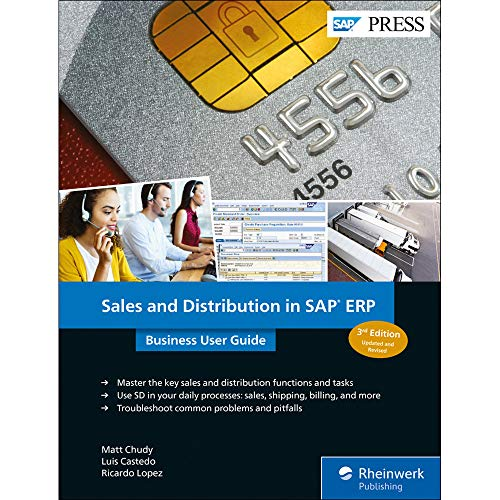 Sales and Distribution in SAP ERP: Business User Guide (SAP PRESS: englisch) - Inventory Software Business