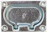 Kistengriffe zum Einlassen 130 X 90 mm Stahl verzinkt 1