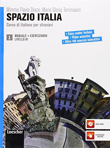 Spazio Italia. Corso di italiano per stranieri. Per le Scuole superiori. Con CD-ROM. Con espansione online: 1