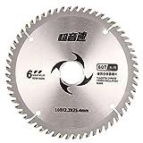 Hoja de sierra circular, hoja de sierra ovinna de 15 cm de carburo cementado, herramienta de carpintería, disco de corte circular
