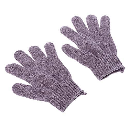 2 Stücke Dusche Bad Handschuhe Peeling Luffa Körper Wäscher Waschen Haut Spa Massage