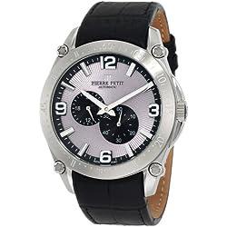 Pierre Petit Men's Automatic Watch Le Mans P-804A with Leather Strap
