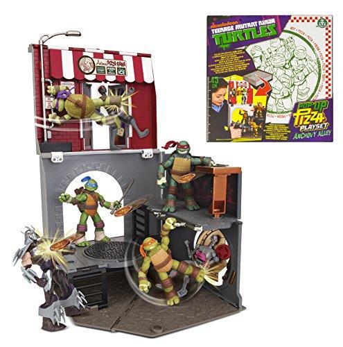 Turtles Teenage Mutant Ninja Pop-Up Pizza Spielset Sardellen Alley