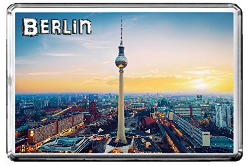 0341 BERLIN KÜHLSCHRANKMAGNET THE CITY OF GERMANY REFRIGERATOR MAGNET GERMANY LANDMARKS, GERMANY ATTRACTIONS