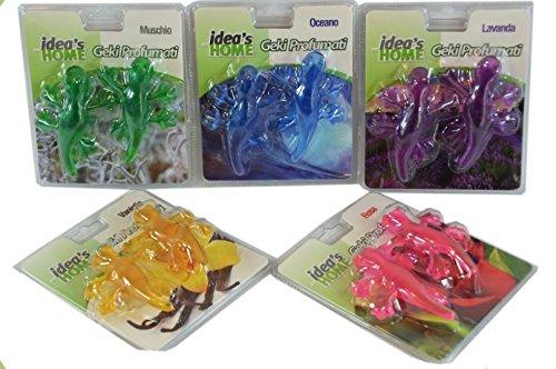 GIRM-HX901409-deodorante-a-forma-di-geco-per-auto-aroma-a-scelta-MUSCHIO-OCEANO-LAVANDA-ROSA-VANIGLIA-Conf-2-pezzi-Profumatore-per-auto-profumo-per-auto-Deodorante-per-auto-con-aromi-vari-Aromaterapia